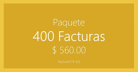 FactureX - Paquete de 400 timbres